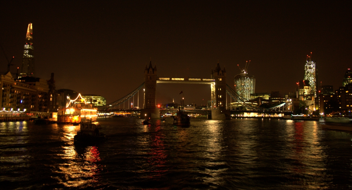 VIC 96 With Tower Bridge blacked out behind