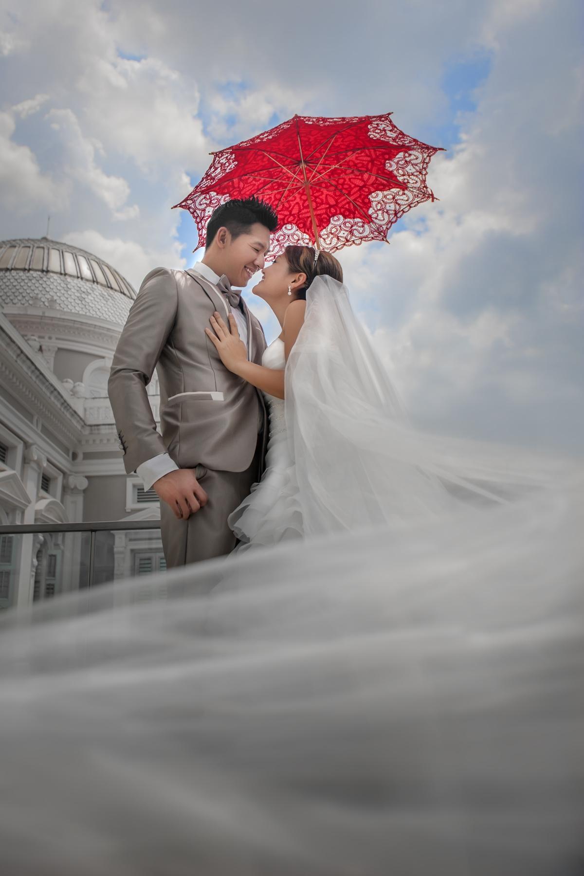 An amazing veil
