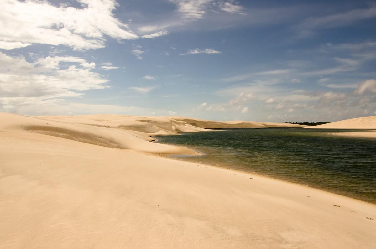 Lagoa at Atins Brazil