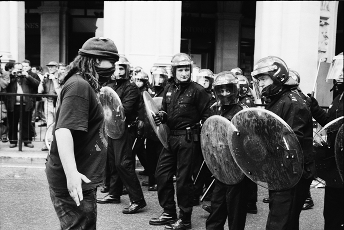Today in history… 'May Day riots' hit central London