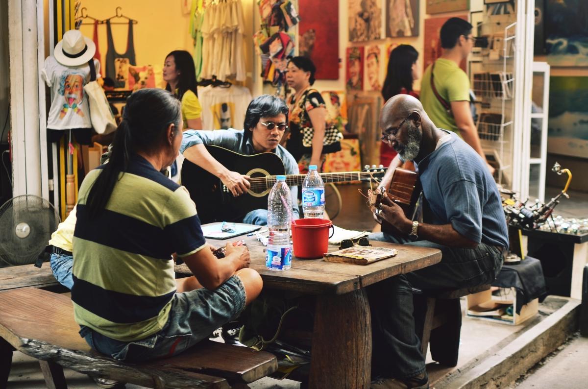 Music in Chatuchak