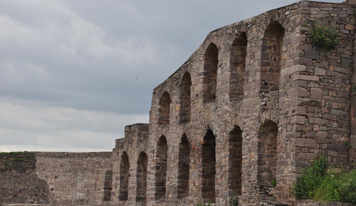 Golkonda Fort Walls