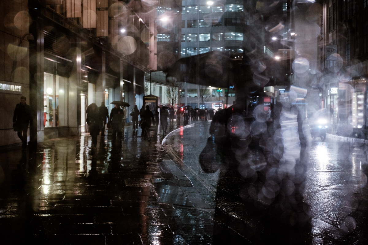 'Rainy London evening' by Benjamin Nwaneampeh