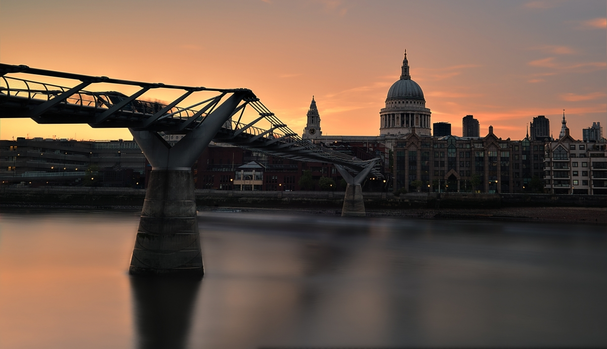 St Pauls across the thames
