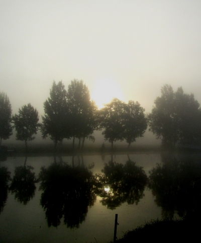 Dawn at Mapledurham