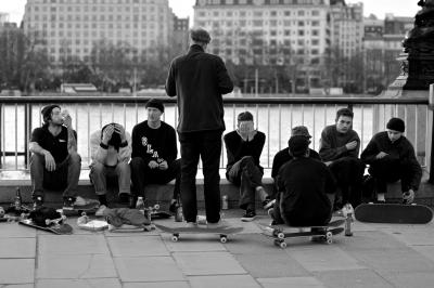 Skaters at Work
