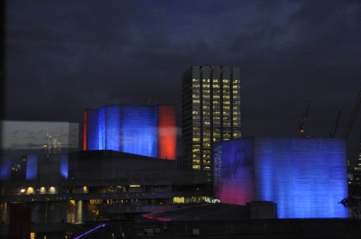 National Theatre by night