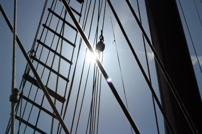 Thames Tall Ship Rigging