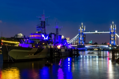 HMS Belfast & Tower Bridge