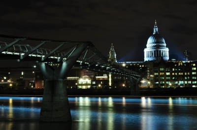 Serene evening at St. Paul's