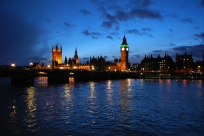 Southbank towards Westminster