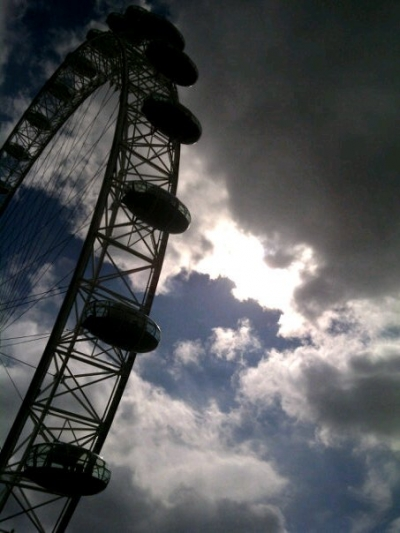 London Eye Clouds