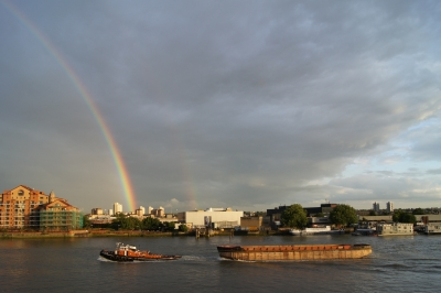 Towing under the rainbow
