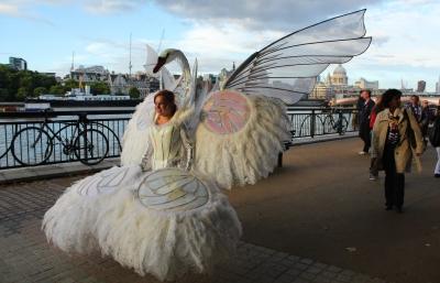 Swan River Lady