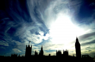 Silhouette of the Parliament