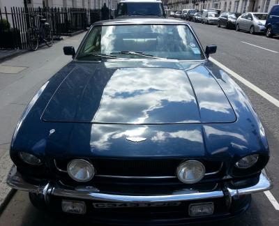 Ol skool  Aston Martin