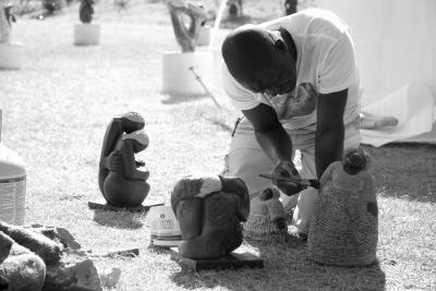 Zimbabwae Sculptor