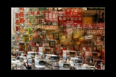 Hong Kong the sign city