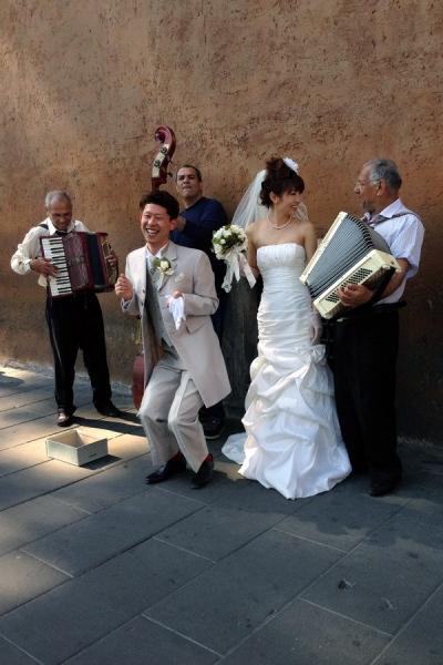 Gypsy and Japanese wedding