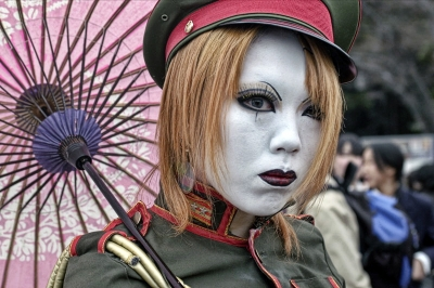 Cosplayer in Tokyo