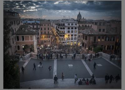 Sunset in Roma
