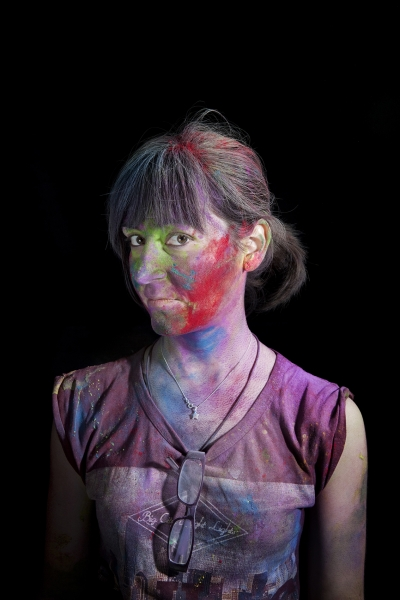 Nuria (from the series: 'Holi')