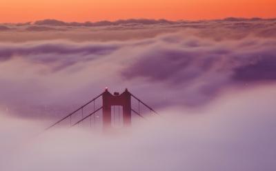 First Fog Sunrise Capture