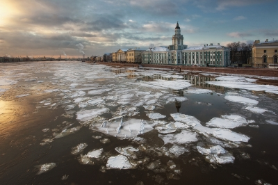 Winter in St-Petersburg