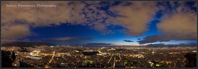 Blue hour panorama