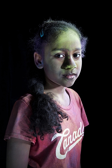 Anna (from the series: 'Holi')