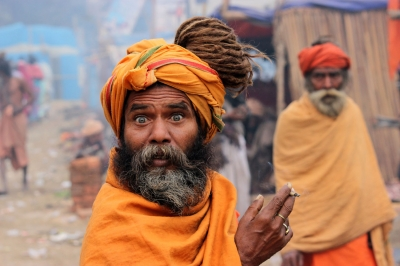 Pilgrims to Gangasagar