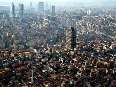 Istanbul from the bird's eye view