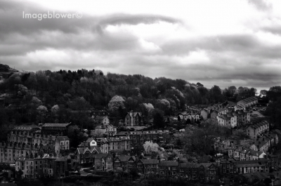 View over Hebden Bridge