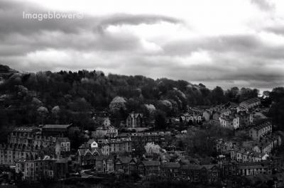 View over Hebden Bridge