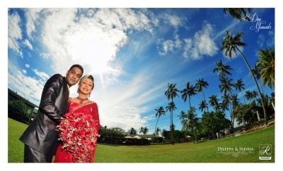 Homecoming Couple in Sri Lanka