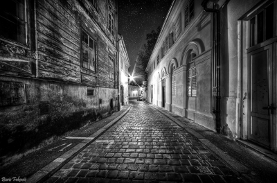 The old town is still sleeping