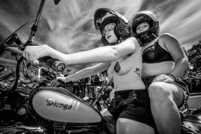 Biker Girls Brighton Pride