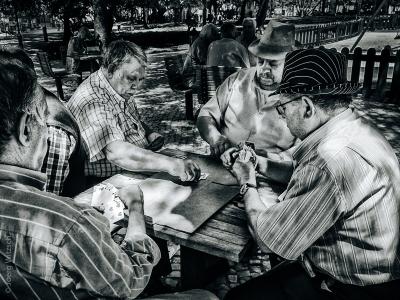 Lisbon card players