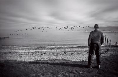Fisherman at Shellness