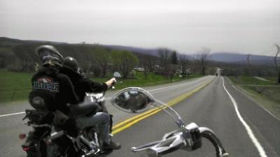 Harley Riding
