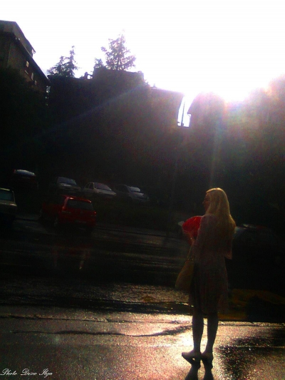 Rainy Street. 26.05.'14. ; )