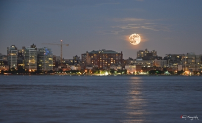 NYC Rise of the Supermoon