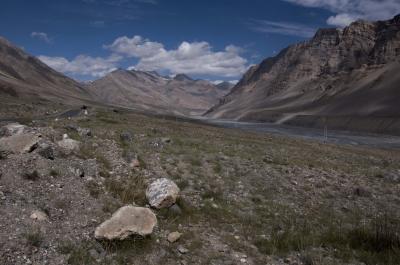 Spiti Valley Mountain Range