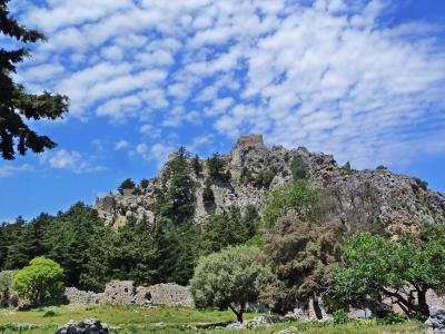 Grecian skies