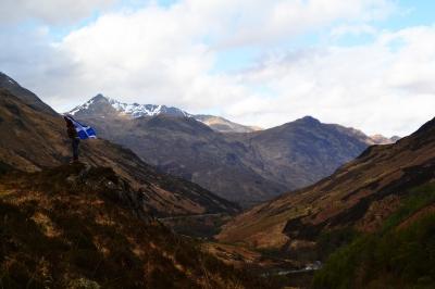 Under the Scottish Flag