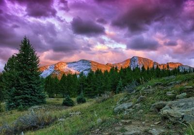 Snowdon Peak Sunset