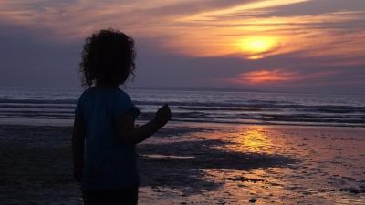 Sunset at Ballybunnion, Co. Kerry, Ireland