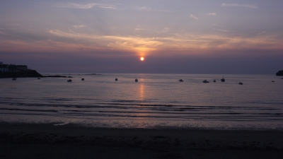 Sunset over Kilkee, Co. Clare, Ireland