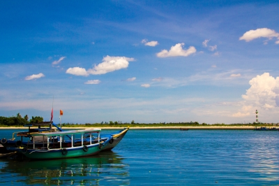 Fishing Boat in Hoi An
