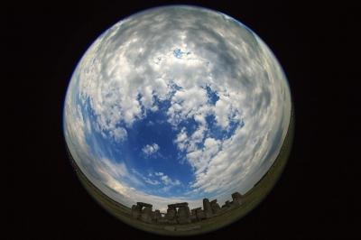 Stonehenge snow globe